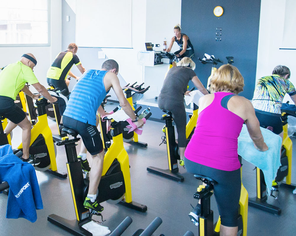Sala Spinning Il Club Wellness